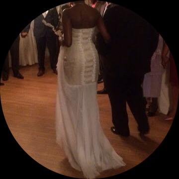 Custom Wedding Gown by Cenojyk