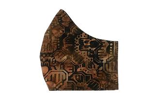 geometric print face mask2