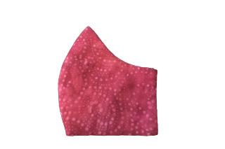 Crimson Red Bespoke Face Mask